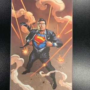 NYCC exclusive Superman Wooden Print!